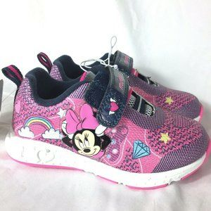 Disney Minnie Mouse Toddler Little Girls Shoes 8